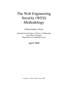 ANALYTICAL CHARACTERIZATION OF INTERNET SECURITY