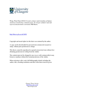Master s Studies � Department of Management, Technology and