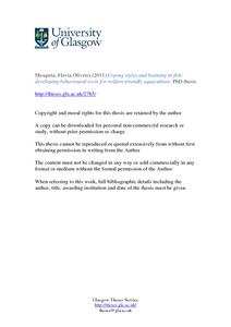 Phd thesis in aquaculture filetype pdf