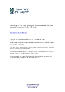Barley phd thesis