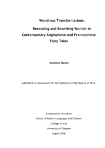 Doctoral thesis fairy tales atu