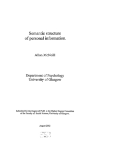 semantic search phd thesis Phd thesis - björn buchhold  efficient semantic search on very large data (version as printed with all publications included in the appendix.