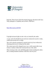 of The gaza strip language